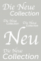 Preview: Die Neue Collection DIN A1