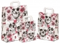 Preview: Papiertaschen Skulls Gothic Flowers