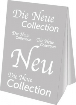 Dachaufsteller DIN A3 Die Neue Collection