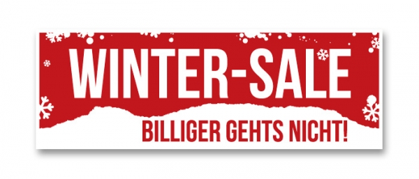 Ankleber Winter-Sale