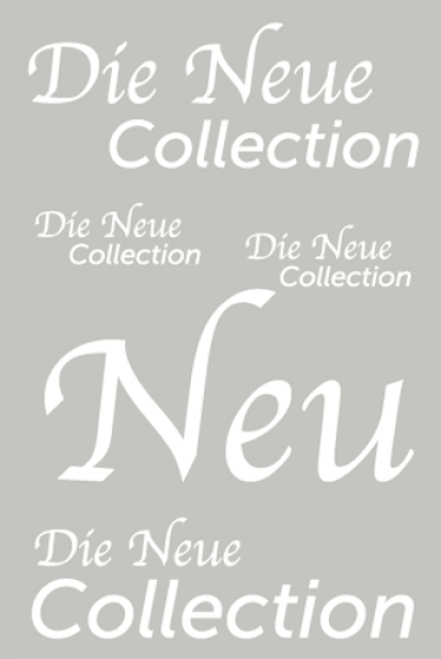 Die Neue Collection DIN A1